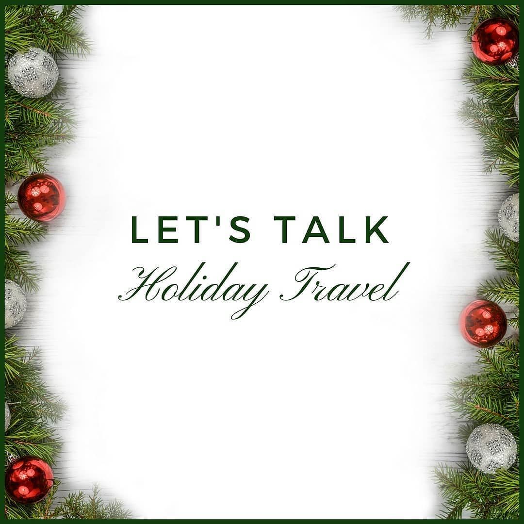 Who loves travelling during the holidays? This year I\'m headed to ...
