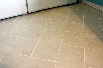 Sweet Something Designs Diy Herringbone Tile Floor Tile Floor