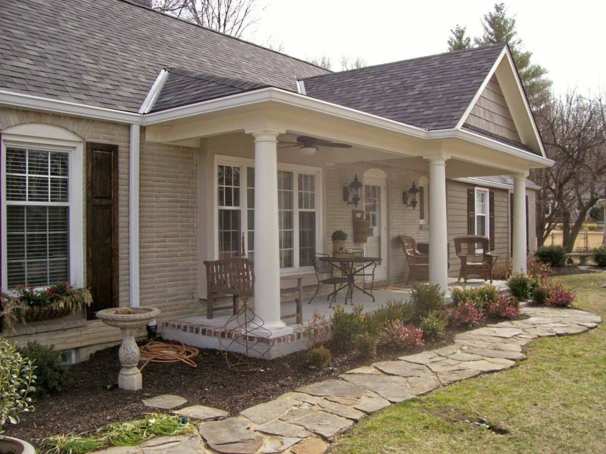 Tray Bella Check It Off The List Front Porch Remodel Porch Remodel Front Porch Design