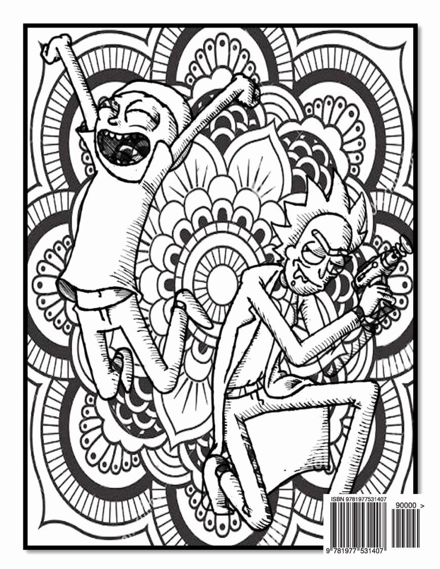Rick And Morty Coloring Book Best Of Rick And Morty Easy Coloring Pages Print Coloring Coloring Books Star Wars Coloring Book Love Coloring Pages