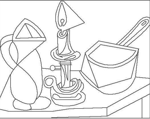 Picasso-colorear