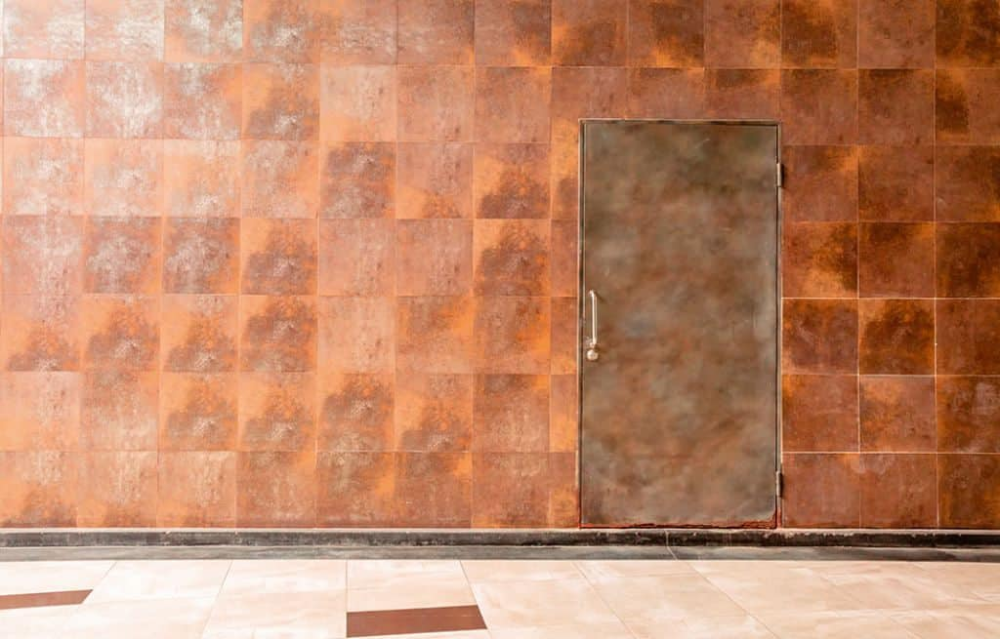 Copper Exterior Wall Cladding For A House Exterior Wall Cladding Cladding Wall Cladding