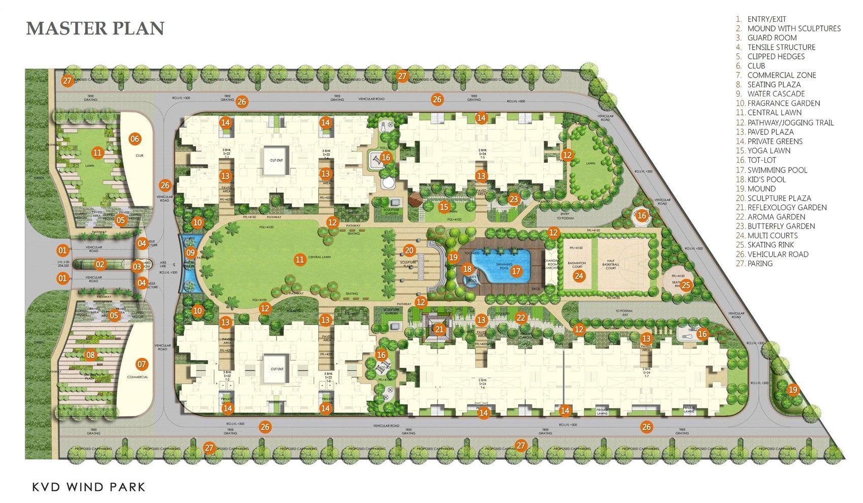 Residential plan szukaj w google projo pomysky for Apartment complex layout