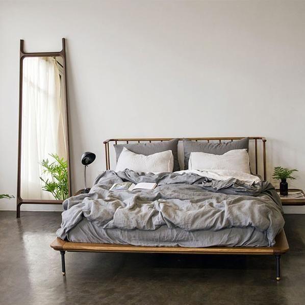 Distrikt Bed in 2021   Bed, Stylish beds, Oak headboard