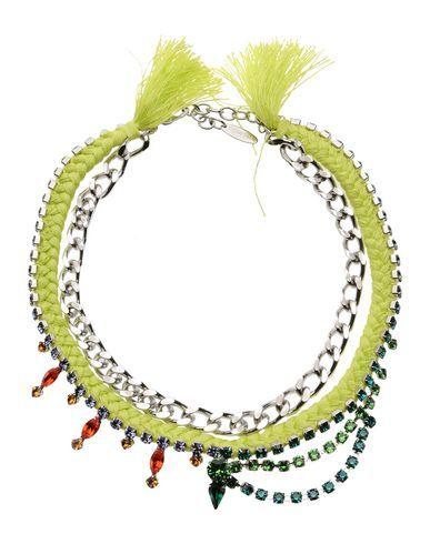 #Joomi lim collana donna Verde acido  ad Euro 69.00 in #Joomi lim #Donna gioielli collane