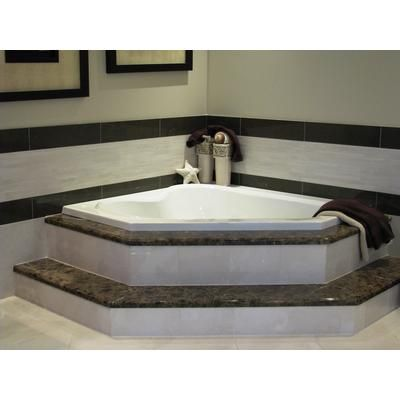 mirolin - soho 2 corner drop in acrylic tub -home depot canada