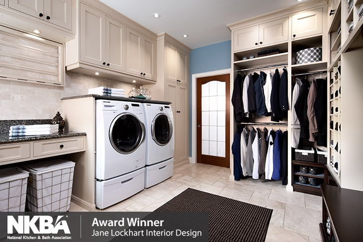 NKBA Award Winning Laundry Room