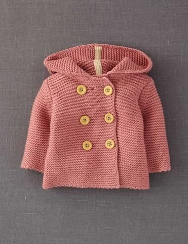 cute little knitted sweater with buttons