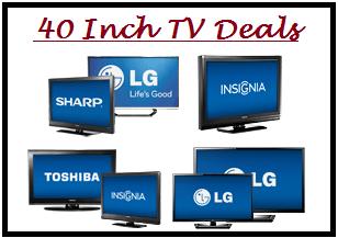 "40"" Deal On Tv Flat Screen"