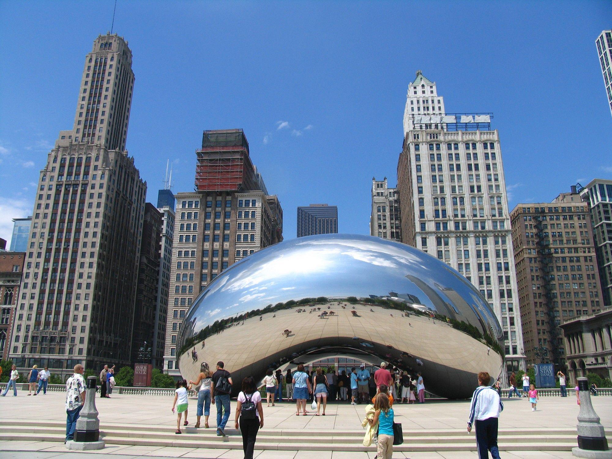 Millennium Park Edificios De Chicago Chicago Architecture