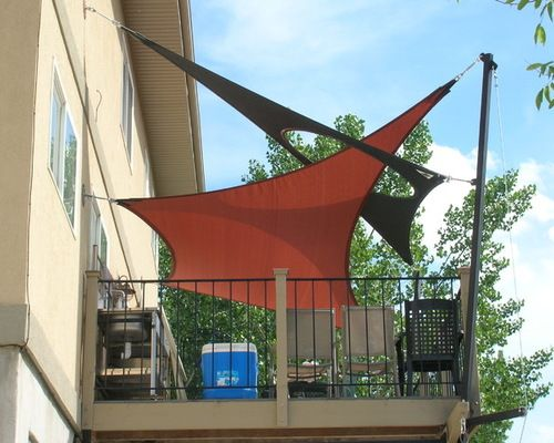 Shade Sail Home Design Ideas Pictures Remodel And Decor Shade