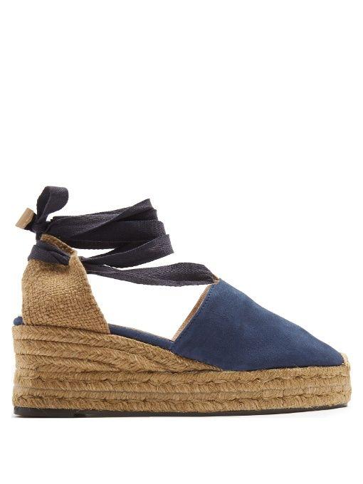 647ff7ed54 CASTAÑER Campesina Suede Wedge Espadrilles. #castañer #shoes #flats ...