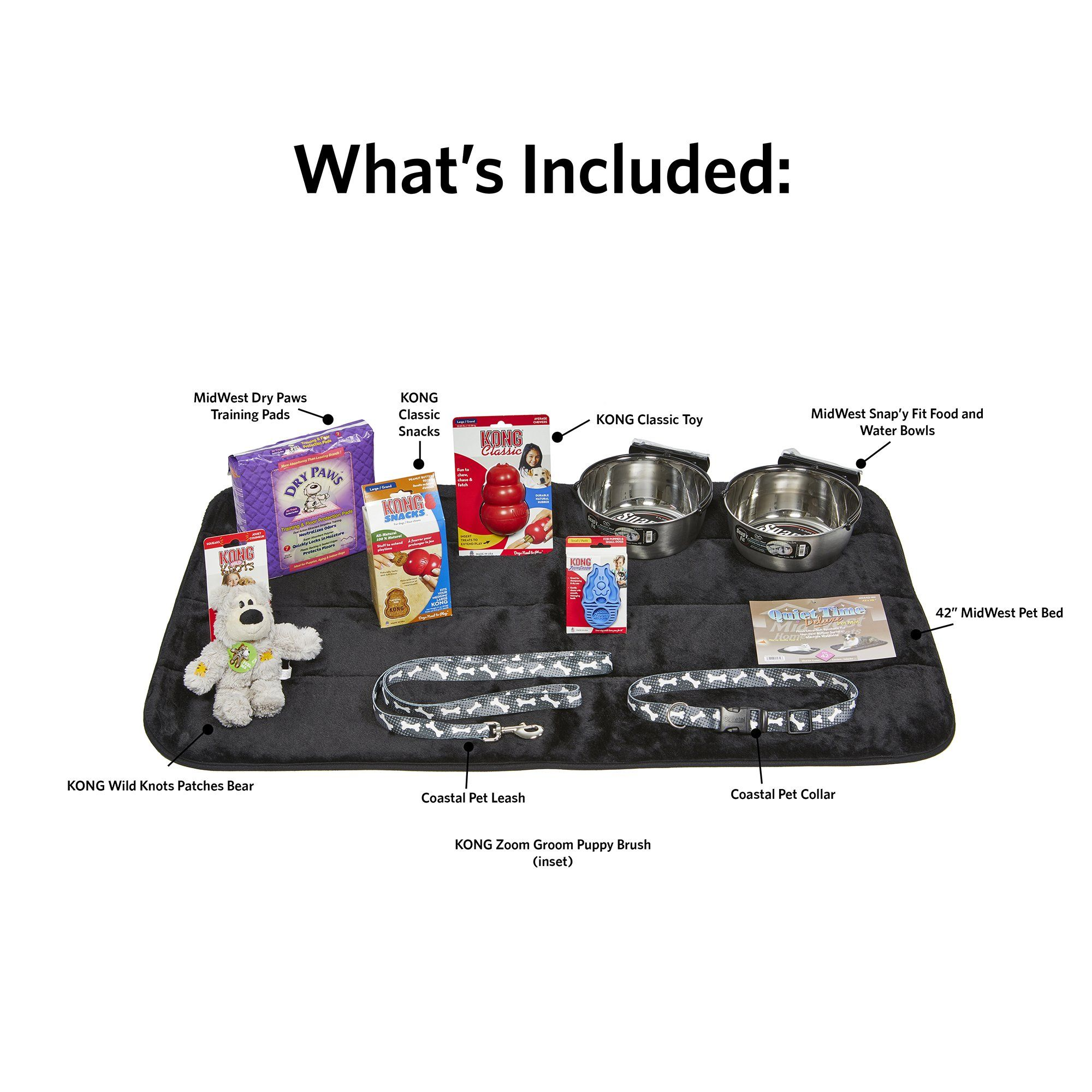 Midwest Puppy Starter Kit, Large  Puppy Starter Kit -5295