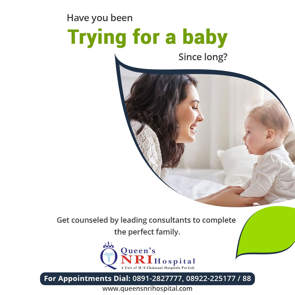 Have you been trying for a baby since long get counseled