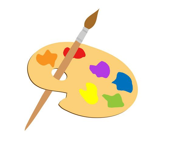 Paint Brush Clipart Free Stock Photo Free Clip Art Artist