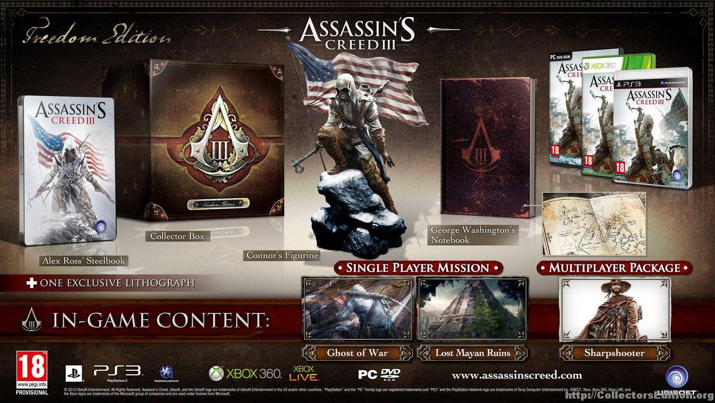 Collectorsedition Org Assassins Creed Gaming Assassins Creed