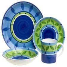 Caleca Bluemoon 16-Piece Dinnerware Set Service For 4 New Gift  sc 1 st  Pinterest & Caleca Bluemoon 16-Piece Dinnerware Set Service For 4 New Gift ...