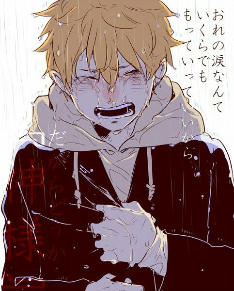 Please Don T Cry Because If You Cry I Cry Haikyuu Haikyuu Anime Anime Crying Haikyuu Fanart