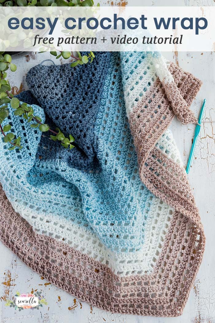 Crochet Wishing Well Wrap Loom Knitting Pinterest Häkeln