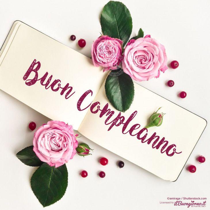 Поздравительная открытка с днем рождения на итальянском языке
