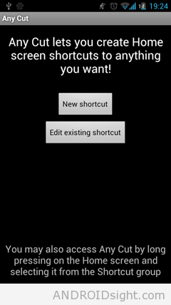 AnyCut APK – The app that can creates shortcuts on the home