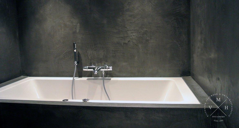 Betonlook Badkamer Maken : Betonlook badkamer uw wanden en muur van betonlook m v h