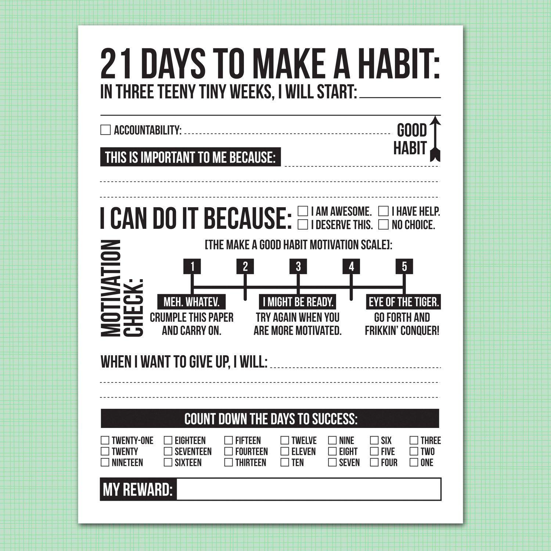how many weeks does it take to break a habit