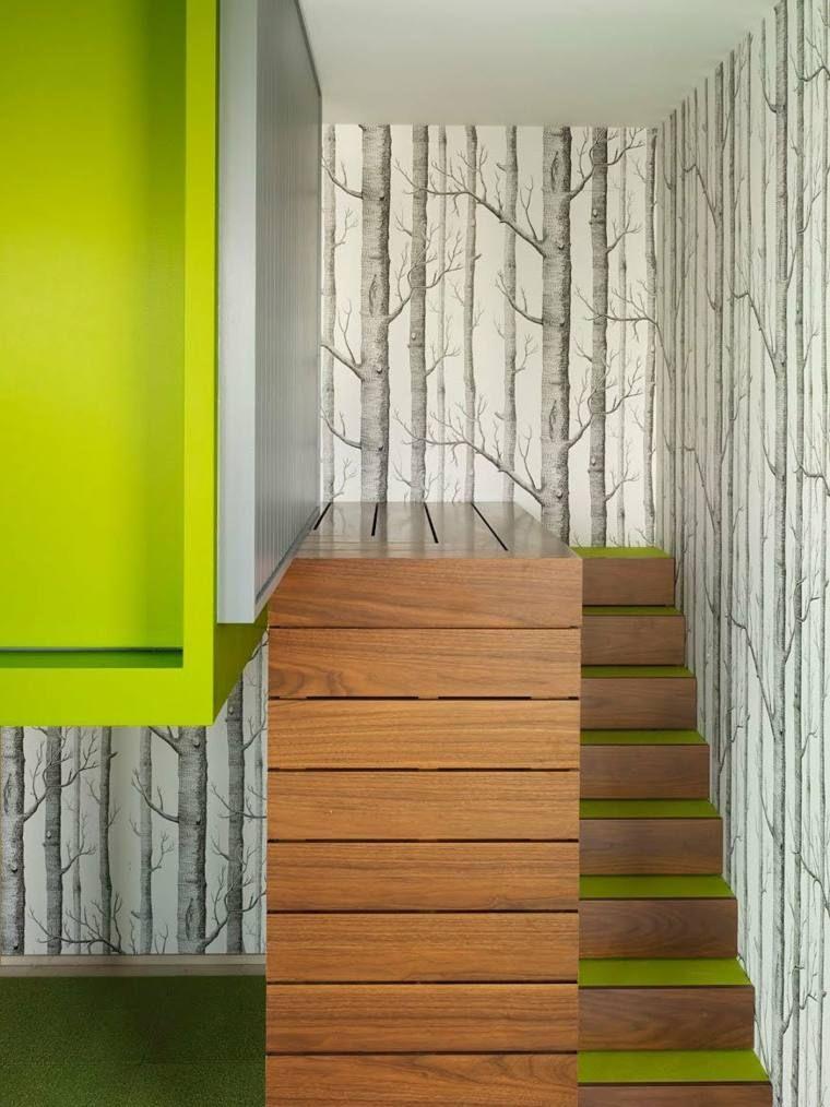 Déco cage escalier  50 intérieurs modernes et contemporains - escalier interieur de villa