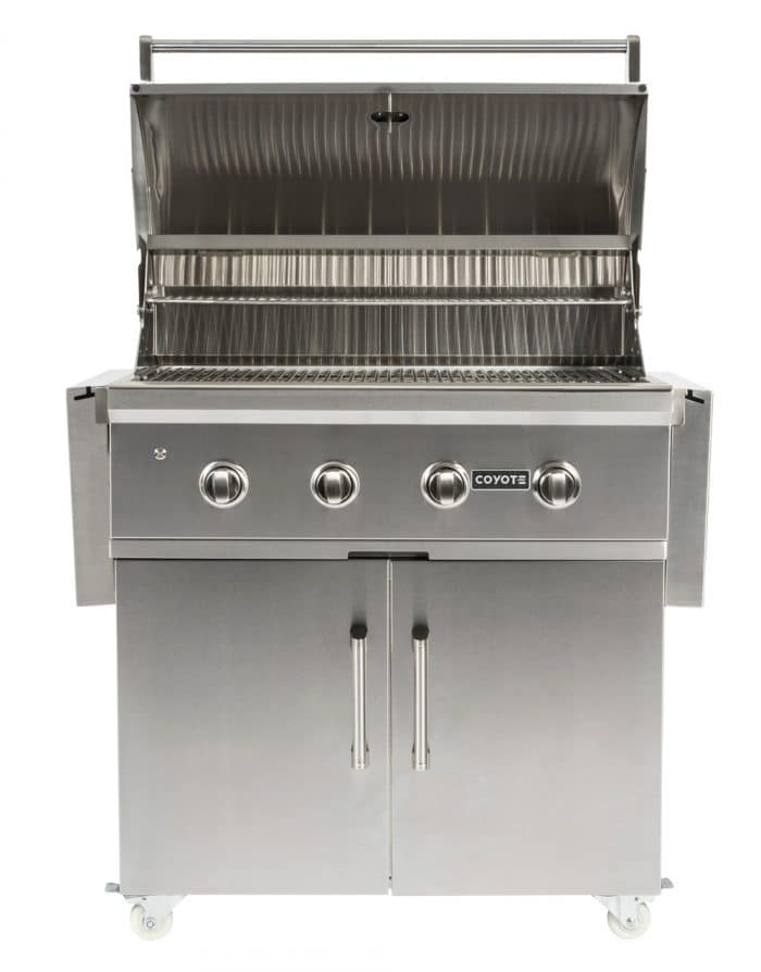 36 C Series Grill Coyote Outdoor Living Gas Grill Stainless Steel Grill Outdoor Gas Grills