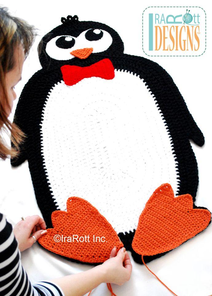 Floppy The Penguin Rug PDF Crochet Pattern   Stuff I Wanna Learn ...