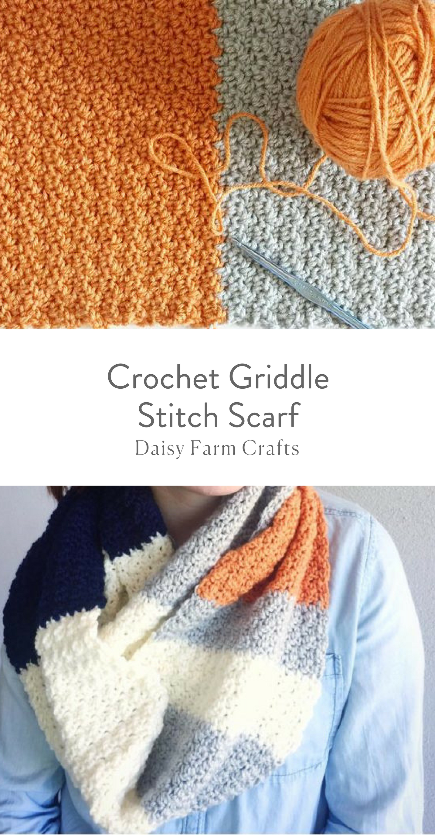 Free Pattern - Crochet Griddle Stitch Scarf | Crochet/yarn ...