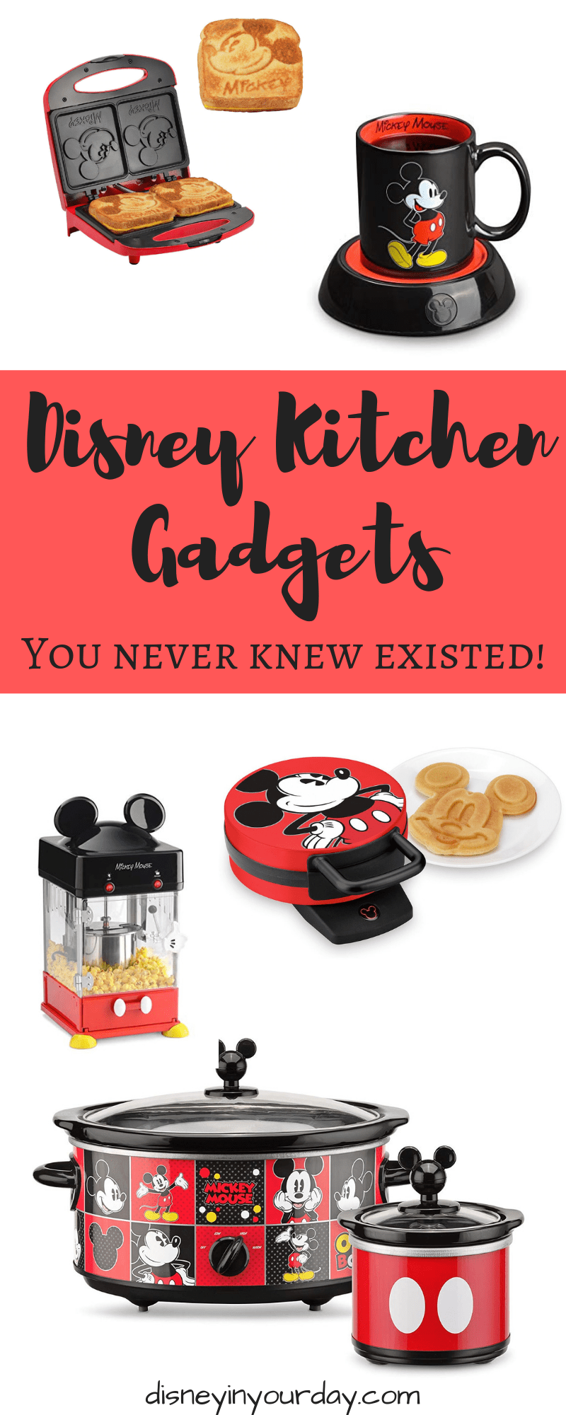 5 Disney Kitchen Gadgets That You Didn't Know Existed - Disney in your Day #disneykitchen
