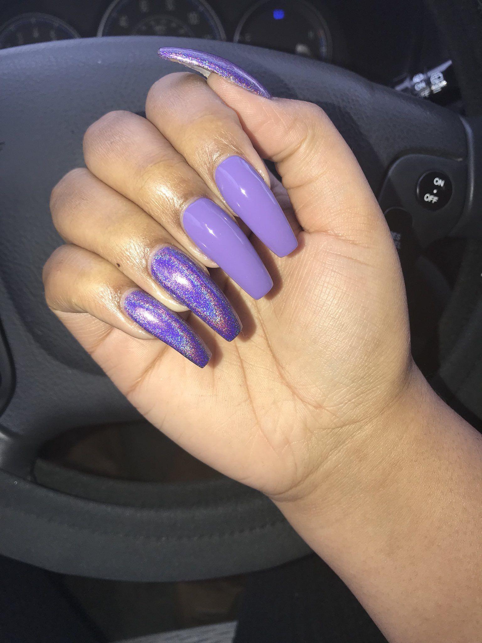 2019 year style- Nails acrylic pinterest photo