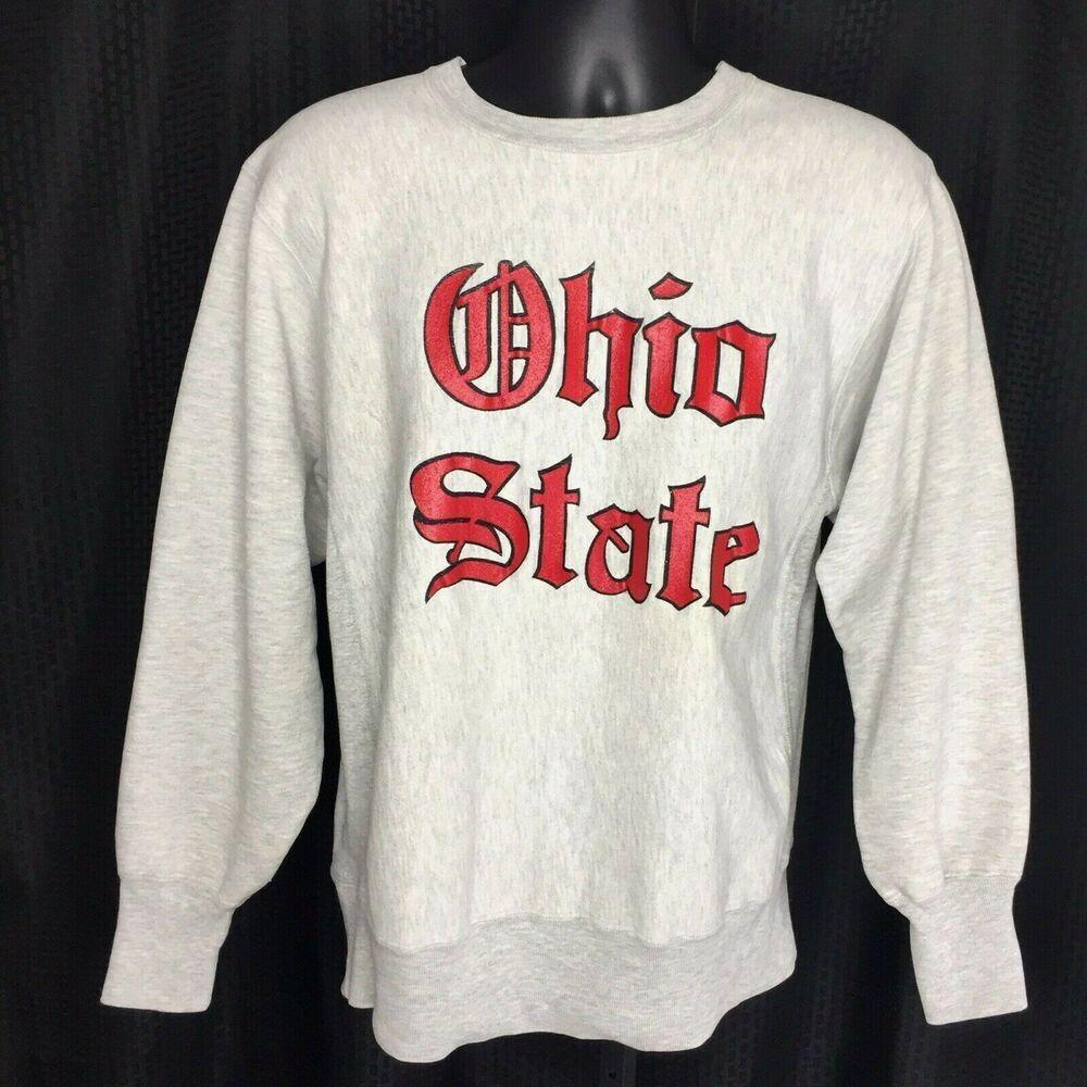 Ohio State Buckeyes Sweatshirt Vtg 80s Champion Reverse Weave Usa Large Osu Gray In 2021 Champion Reverse Weave Ohio State Buckeyes Champion Reverse Weave Sweatshirt [ 1000 x 1000 Pixel ]
