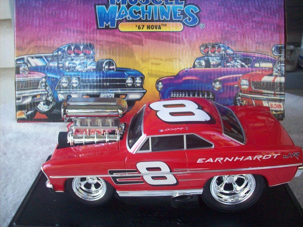 Muscle Machines 1967 Chevrolet Nova 1:18 Diecast Car #Chevrolet ...