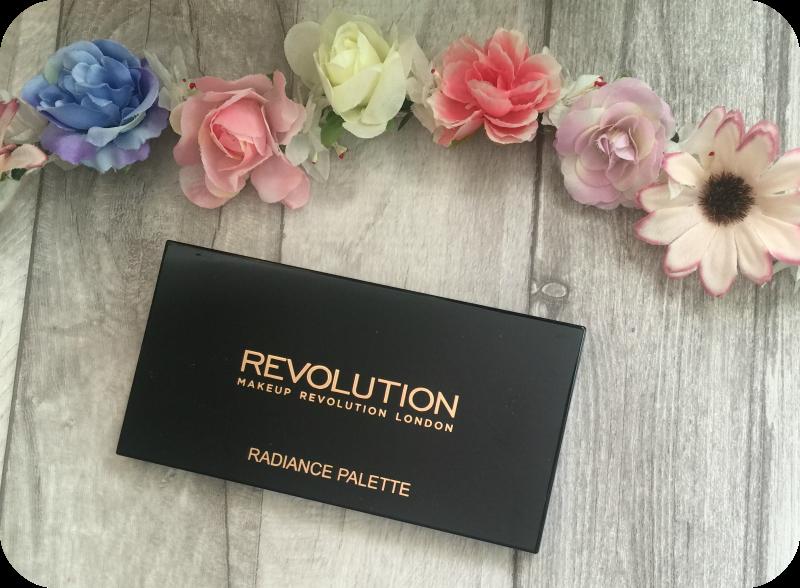 Makeup Revolution Highlighter Palette in Radiance review