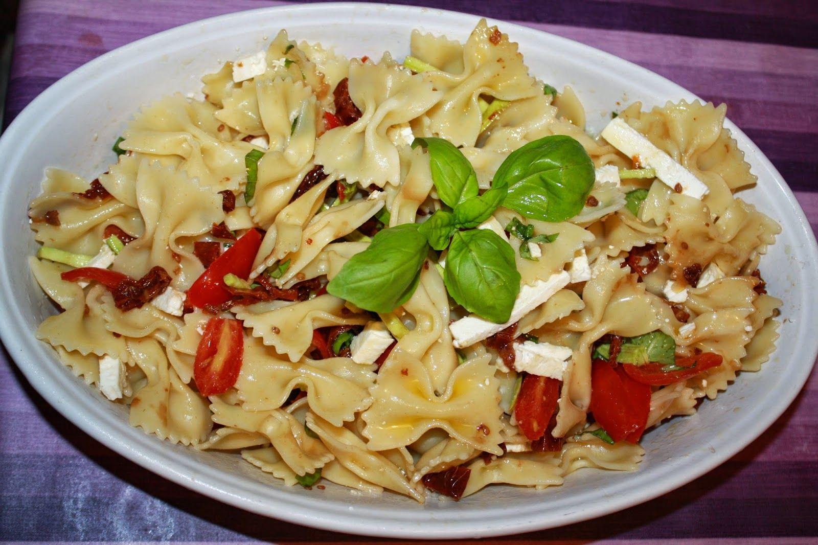 pasta fredda tricolore / pasta salad