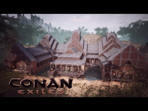 These Building Blocks Are From The Imperial East Pack Dlc I Love These Blocks So Much And They Look The Same From Each Conan Exiles Conan Conan The Barbarian