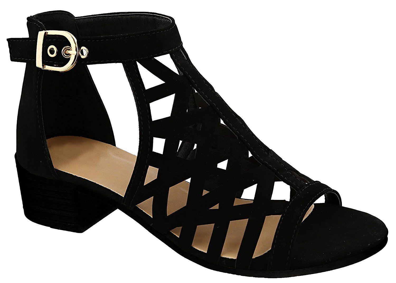 Travelnut Back To School Sale Juliette Strappy Gladiator Block Heel Sundress Sandals For Women Assort Ankle Strap Heels Latest Ladies Shoes Block Heels Sandal [ 1073 x 1500 Pixel ]