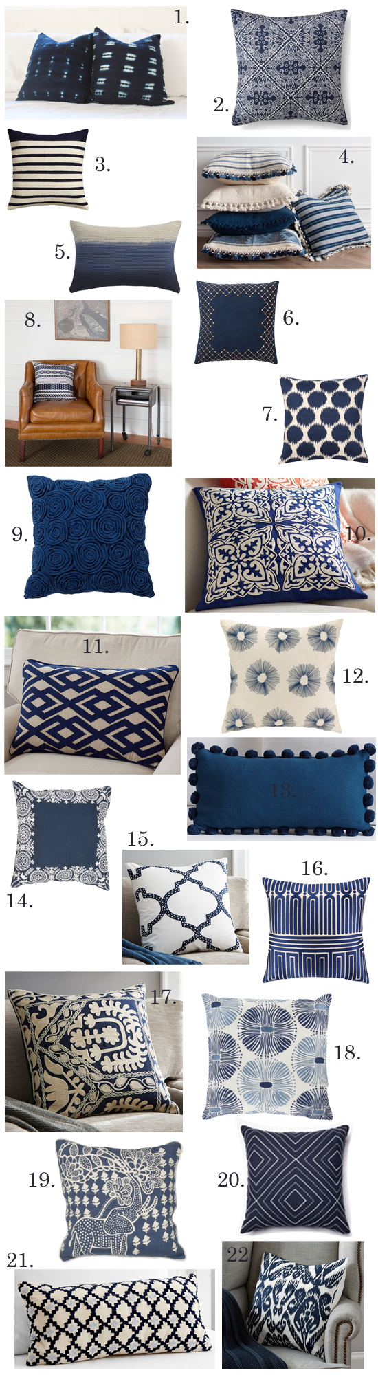 7 Dazzling Colors That Go with Navy Blue | Blue living room