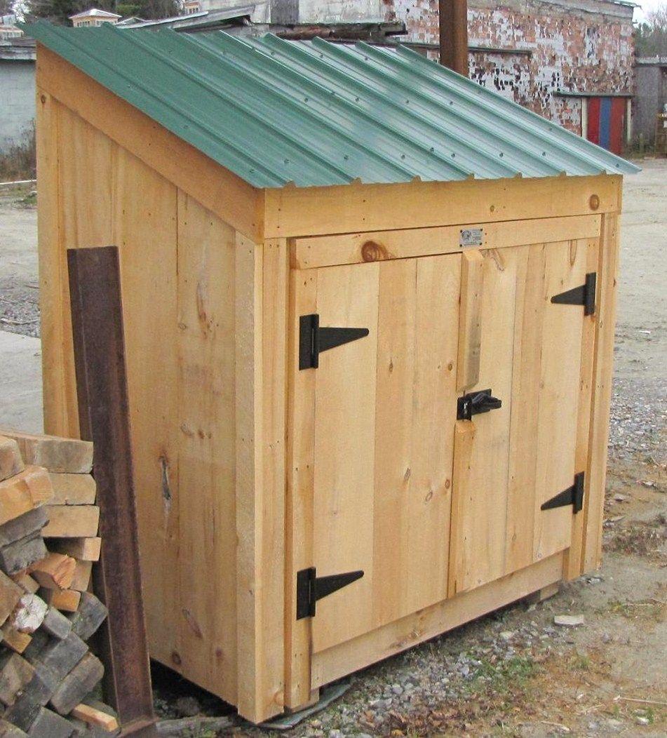 Garbage Bin Storage Wooden Garbage Bin Jamaica Cottage Shop Diy Storage Shed Plans Garden Shed Kits Garden Shed Diy