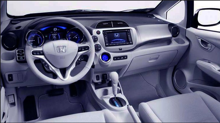 Honda Fit 2018 Interior Inside The Automobile Pinterest