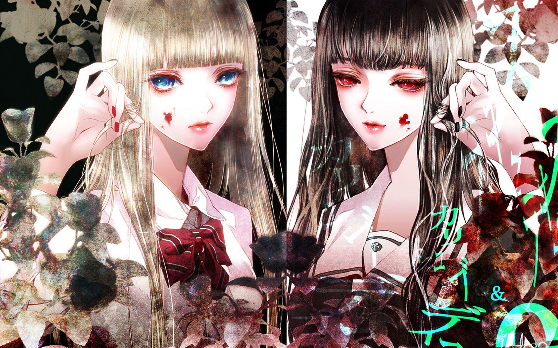 Kiyohara Hiro Illustration Twins Mystic Blood