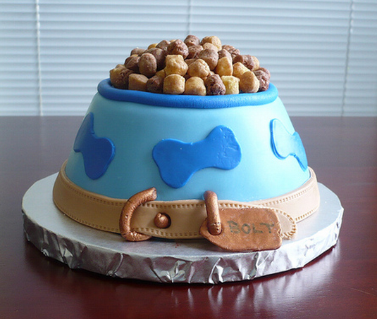 Cool Birthday Cake Dog Bowl Birthday Cakevery Cool Dog Birthday - Good birthday cake ideas