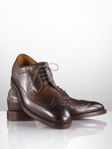 Ralph Lauren: Sanderson Burnished Wingtip. | Fashion | Zapatos