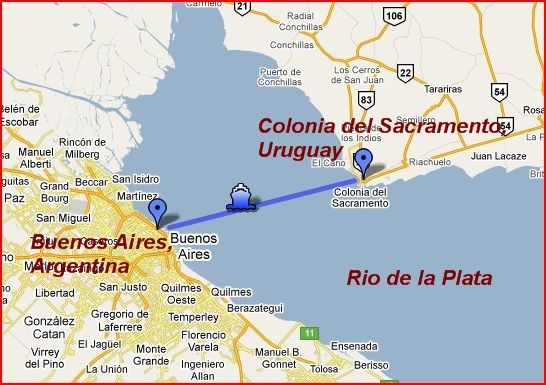 Beyond Buenos Aires A Day Trip To Colonia Del Sacramento The Latin American Travel Blog Colonia American Travel Day Trip