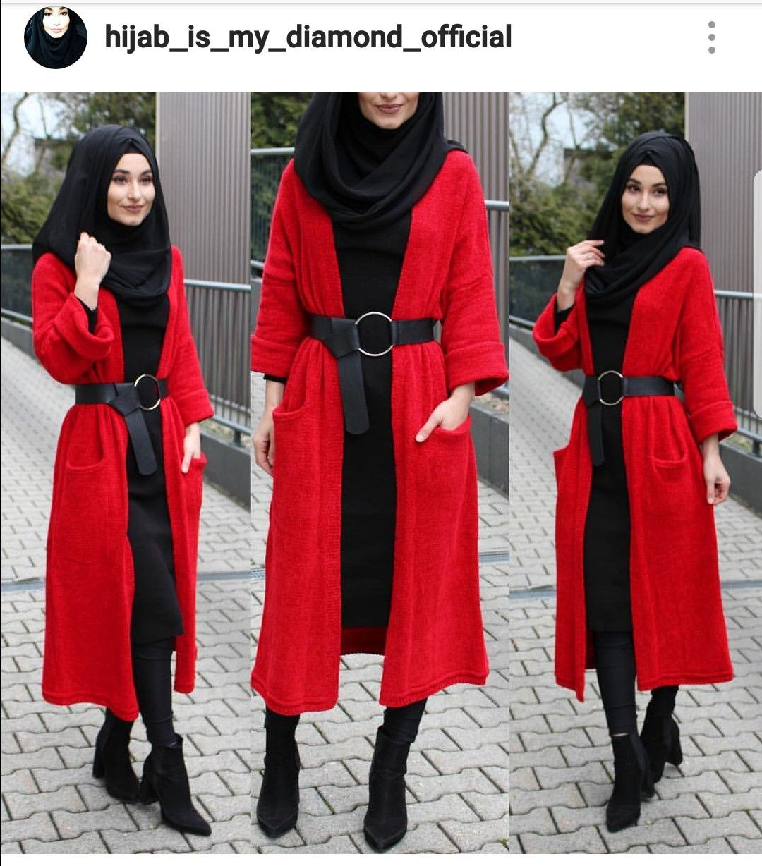 Pin von Moufida Yazid auf Muslim fashion | Mode outfits ...