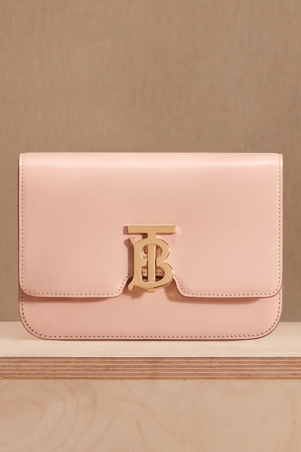acb3907a1dcb Small Leather TB Bag in Rose Beige - Women in 2019
