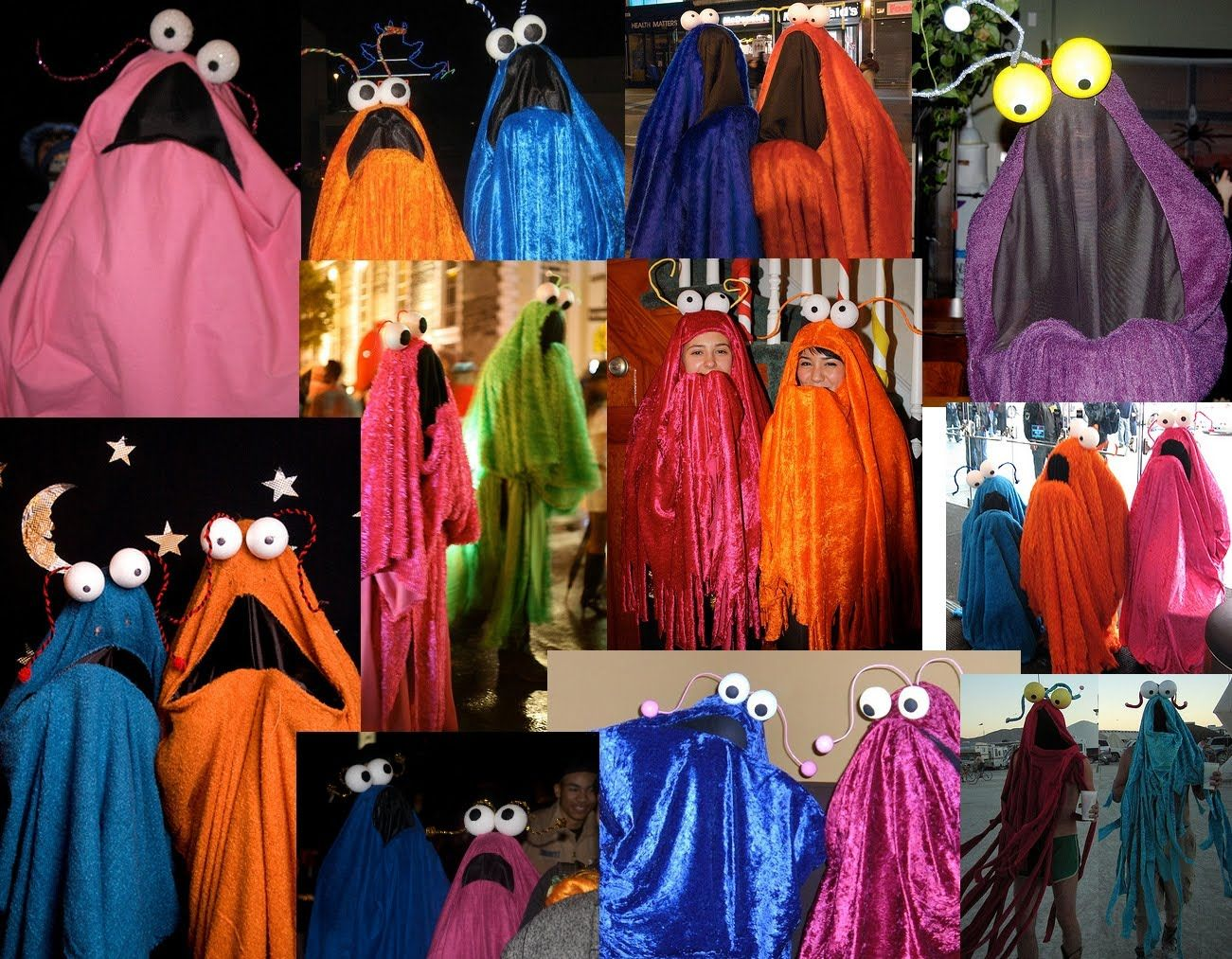 Are these costumes out of this world? Yip yip yip yip yip yip yip uh-huh!