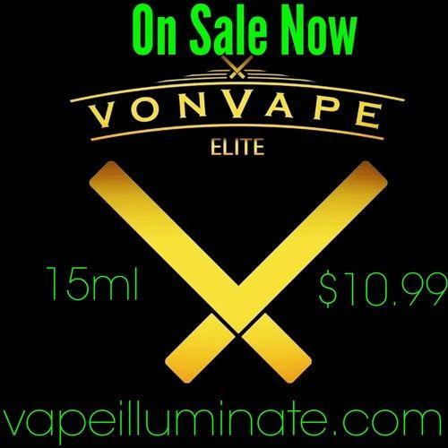 Von Vape Elite Vanilla e-liquid.  ►Repin Follow us: @Vapeilluminate on Twitter | @Vapeilluminate on Facebook | vapeilluminate.com